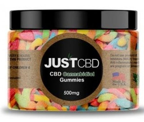 Sour Worm Gummy Jar by Just CBD Review
